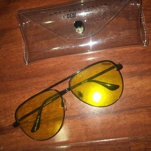Yellow Sahara sunglasses